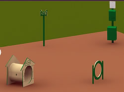 dog park equipment agility