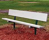 dog park equipment benches