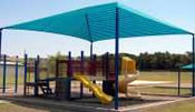 dog park shade structures square